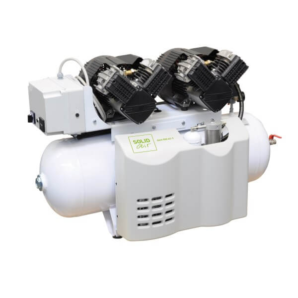 SOLIDair 500AT-T Oil Free Piston Air Compressor