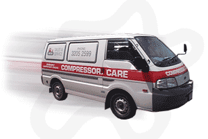 air compressor repair van by compressor care